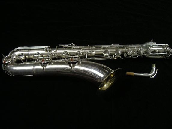 Conn Silver Plate 12M Baritone - 272488 - Photo # 1