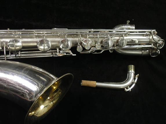 Conn Silver Plate 12M Baritone - 272488 - Photo # 3