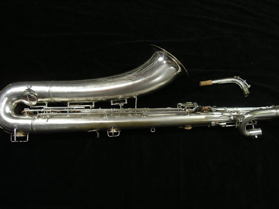 Conn Silver Plate 12M Baritone - 272488 - Photo # 4