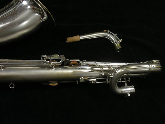 Conn Silver Plate 12M Baritone - 272488 - Photo # 6