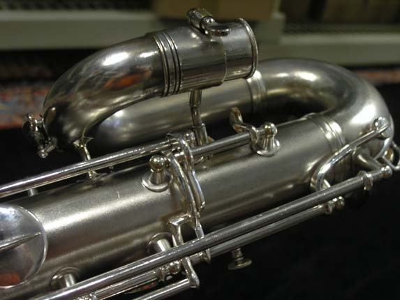 Conn Silver Plate 12M Baritone - 272488 - Photo # 11