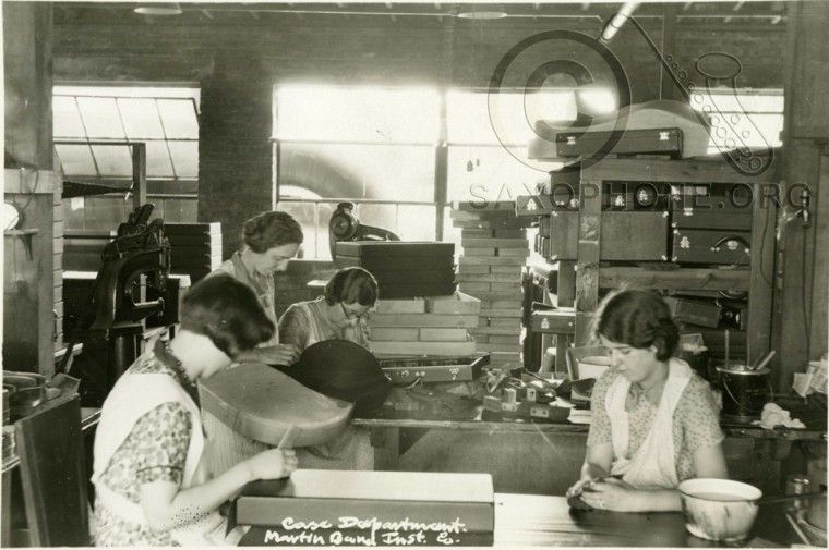 Martin Band Instrument Co- August 1928-Case Department