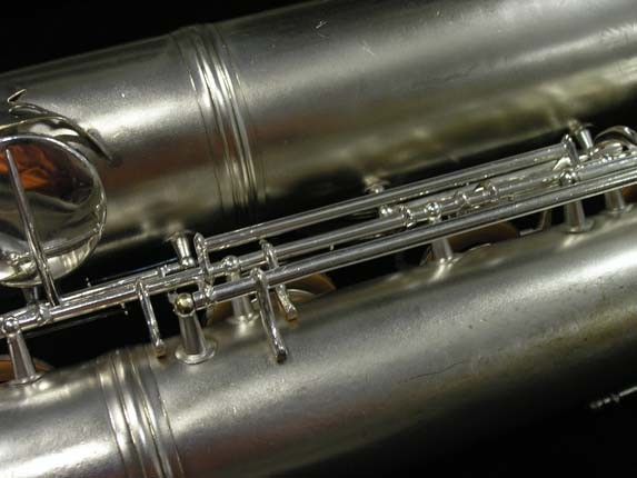 Conn Silver Plate 12M Baritone - 272488 - Photo # 19
