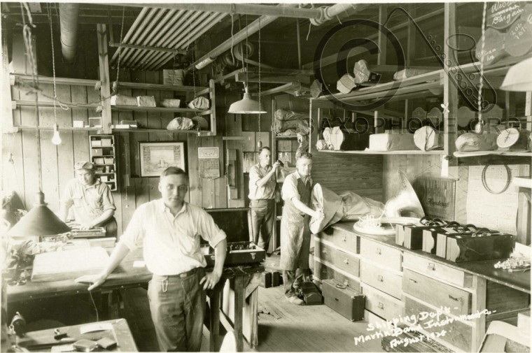 Martin Band Instrument Co- August 1928-Shipping Dept