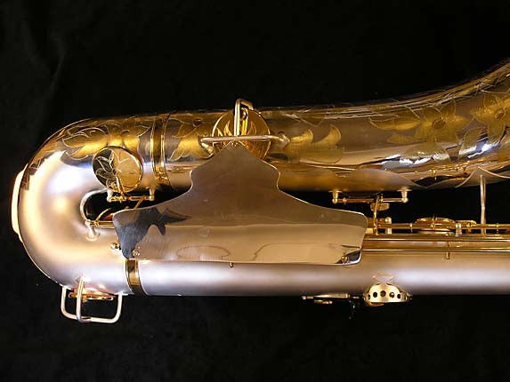 King Custom Silver & Gold Plate Zephyr Baritone - 179421 - Photo # 5