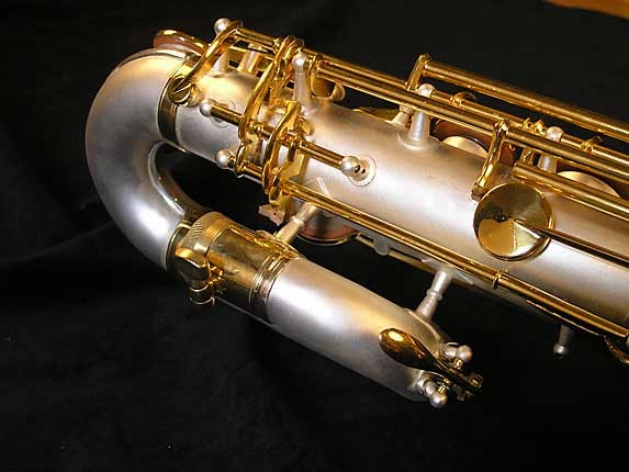 King Custom Silver & Gold Plate Zephyr Baritone - 179421 - Photo # 12