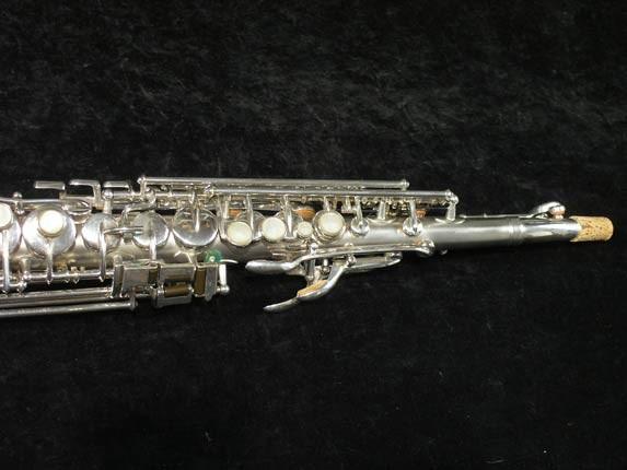 Buescher Silver Tipped Bell True Tone Soprano - 234860 - Photo # 3