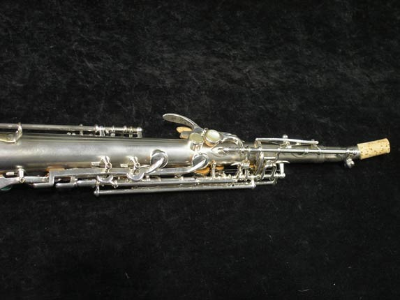 Buescher Silver Tipped Bell True Tone Soprano - 234860 - Photo # 6