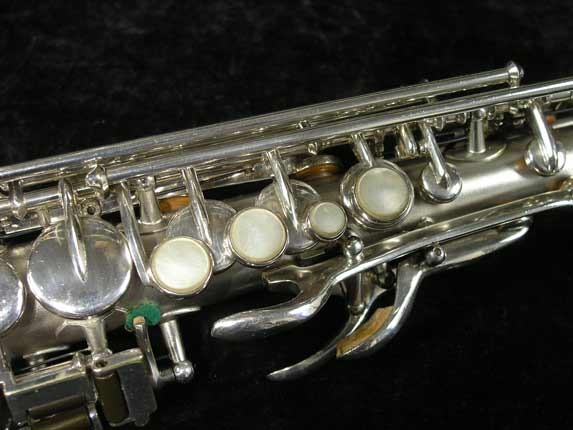 Buescher Silver Tipped Bell True Tone Soprano - 234860 - Photo # 8