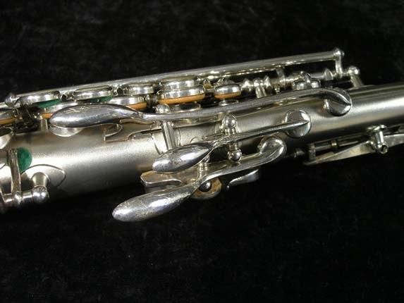 Buescher Silver Tipped Bell True Tone Soprano - 234860 - Photo # 9