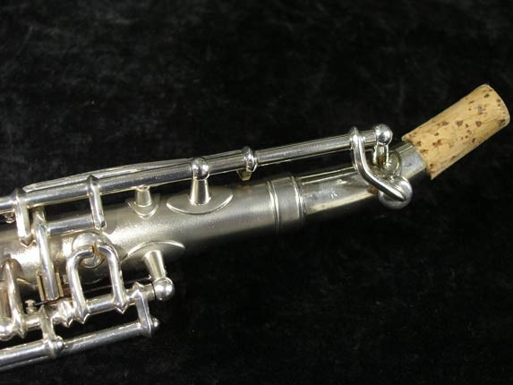 Buescher Silver Tipped Bell True Tone Soprano - 234860 - Photo # 11