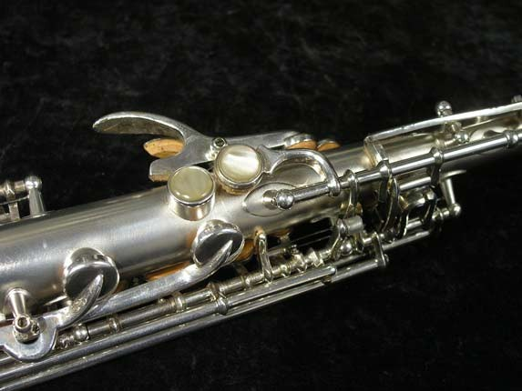 Buescher Silver Tipped Bell True Tone Soprano - 234860 - Photo # 12