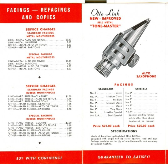 Otto Link Preview Catalog April 1946
