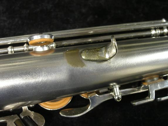 Buescher Silver Tipped Bell True Tone Soprano - 234860 - Photo # 16