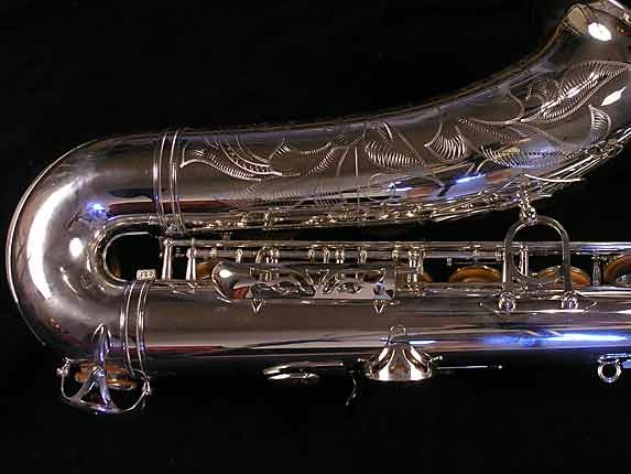 Yamaha Silver Plate Custom YTS-875 - 005658 - Photo # 5