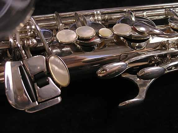 Yamaha Silver Plate Custom YTS-875 - 005658 - Photo # 8