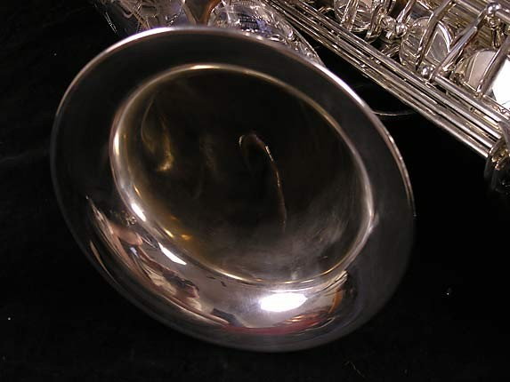 Yamaha Silver Plate Custom YTS-875 - 005658 - Photo # 9