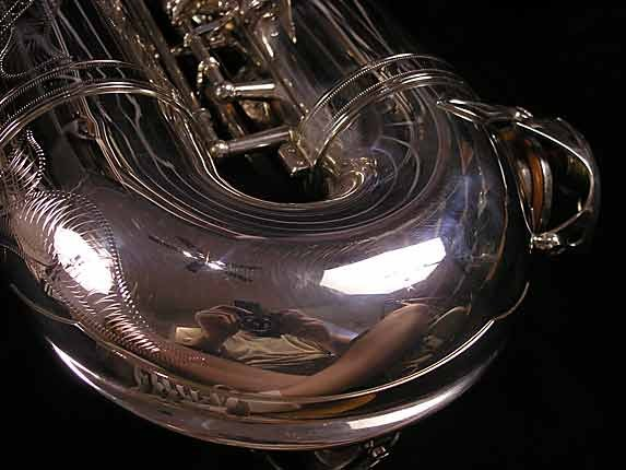 Yamaha Silver Plate Custom YTS-875 - 005658 - Photo # 14