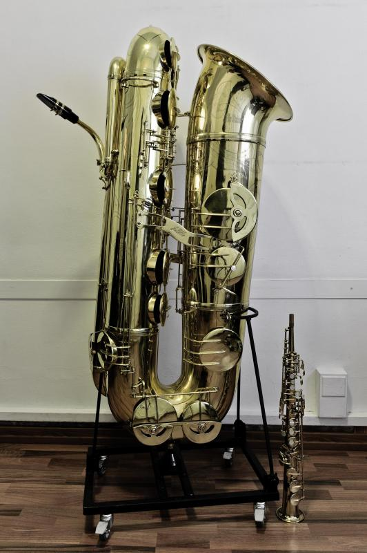 J'Elle Stainer Double Bb Sub-Contra Bass Saxophone