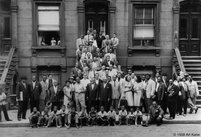 A Great Day In Harlem with Coleman Hawkins and others