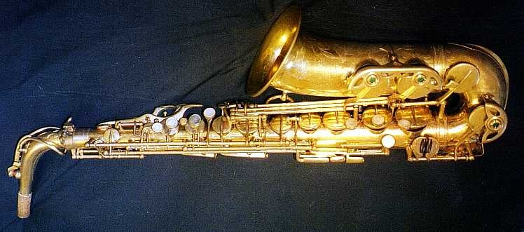 This gold-plated Selmer Balanced Action alto really did belong to Woody Herman's lead altoist, Sam Marowitz